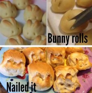 Hippity hop onto Pinterest fails.