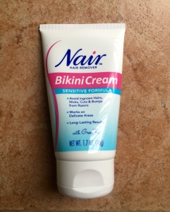 Nair, And My Beautiful Depilatory Accident | Ponies and Martinis